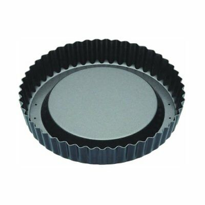 MasterClass Non-Stick Raised Fluted Sponge Flan Tin With Loose Base, 20 cm 8