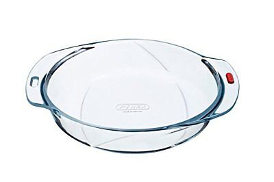 Pyrex Reflections - Irresistible Glass Cake Dish or Casserole Lid High Heat Resi