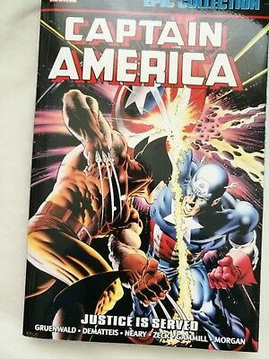 Captain America Justice Is Served Epic Collection Mark Gruenwald Scourge