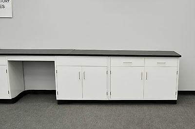 Fisher American  24′ Base Laboratory Cabinets / Case Work /  NEW