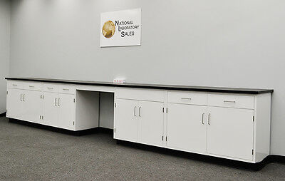 NEW 17′  Fisher American Base Laboratory Cabinets & Tops QUICK SHIP