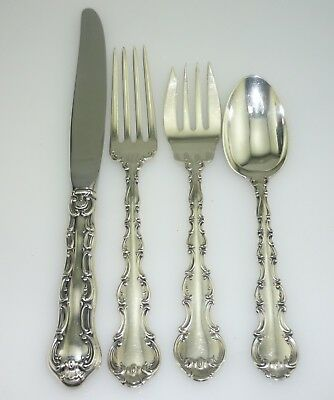 GORHAM Strasbourg 4 piece Sterling Place Setting ~6269~
