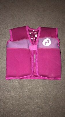 Two Bare Feet float vest, pink, 1-2 years 10-15kgs