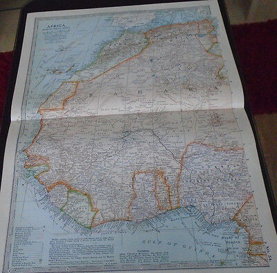 Map Britannica Africa North Western Part 1903
