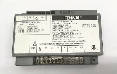 Pentair / Sta-rite Fenwal Spa Automatic Ignition Control Pool Module 42001-0052S