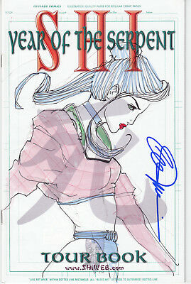 Shi Year of the Serpent Tour Book (Crusade, 2001) - Signed & Re-marked