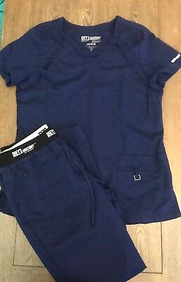 Grey's Anatomy Srub Set Sz M