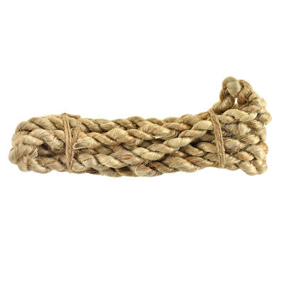 Natural Jute Rope Bundle, 12mm, 2-Yard
