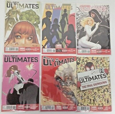 All-New Ultimates 1-12 | Complete 2014-2015 Marvel Series | Nm