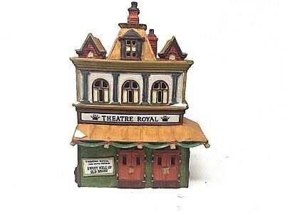 1989 Dept  56 Heritage Village Collection Dickens Village Series Theatre Royal