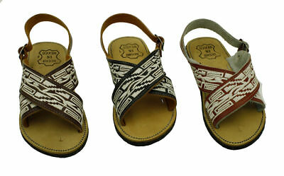 MEN LEATHER MEXICAN HUARACHE PITEADO SANDALS/ HUARACHE Estilo Sinaloa /Free Ship