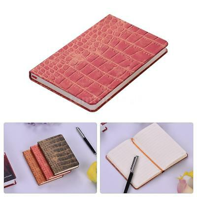 A6 98Sheet Notebook Notepad Business Writing&Sketching Hard Cover Note Book R8Q5
