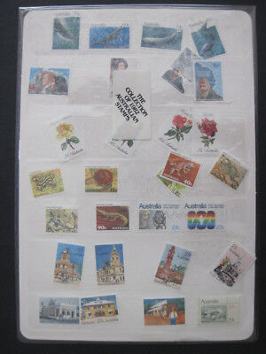 Australia 1982 year collection of mint unhinged stamps sealed unopened pack