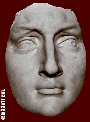 Italian Renaissance sculpture mask of David, Michelangelo, made in Sydney. 49 cm