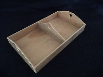 Homemade replacement tray or till for child- or doll-size camel-back trunk