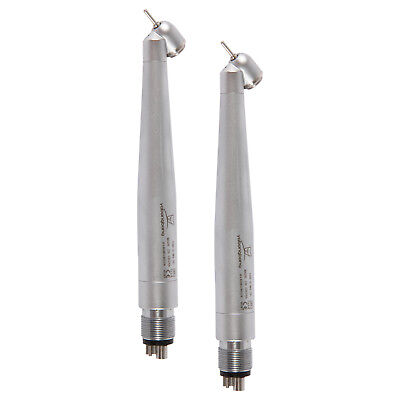 2*Dental High Speed Handpiece NSK Style 45 Degree Push Button Surgical M4 NH