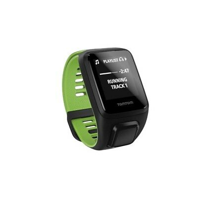 TomTom Runner 3 Cardio + Music HR & GPS watch - Black/Green - L - NEW IN BOX