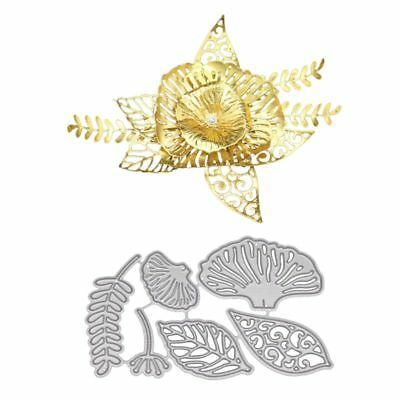 Leaf Metal Cutting Dies Stencil DIY Scrapbooking Embossing Paper Card Home Decor