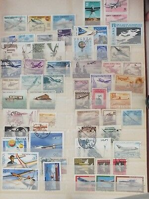 Thematic stamps Planes