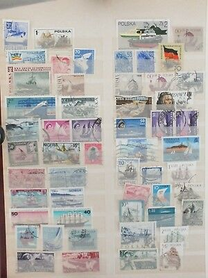 Thematic stamps Boats and Ships