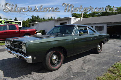 1968 Plymouth Road Runner HEMI 1968 Green HEMI 4 Speed Muscle Car Restored Build Sheet