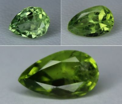 Natural Peridot Loose Pear Cut Gemstone Pakistan Best Color 8x6mm 10x6mm 11x6mm