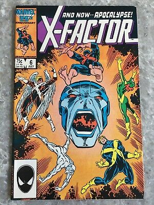 X-Factor 6 1st Full Appearance of Apocalypse Fine Condition