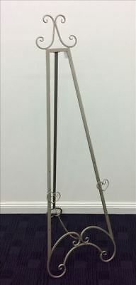 FRENCH EASEL Champagne Metal LARGE 1.54 mt high Wedding  or Corporate