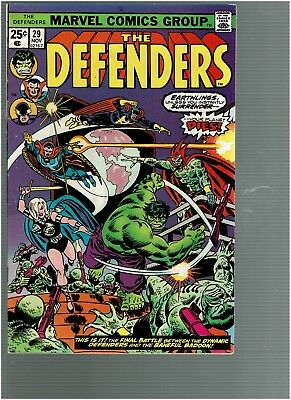 Defenders 29 Guardians of the Galaxy Starhawk Badoonl Mark Jewelers variant VF+
