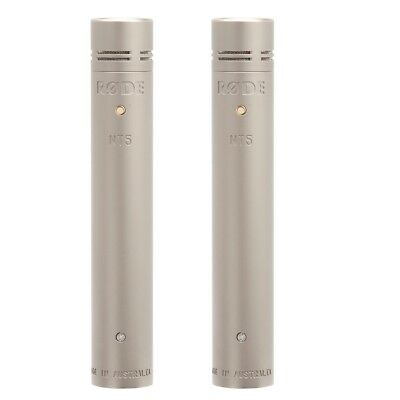 Rode NT5 Matched Pair Stereo Cardioid Condenser Studio Recording Microphones