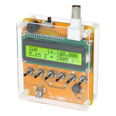 LCD Digital Shortwave SWR Antenna Analyzer Meter Tester Ham Radio 1-60M 12V DC