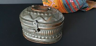 Old Turkish Hammam, Turkish, Bath Copper Soap Carrier …beautiful collection / di