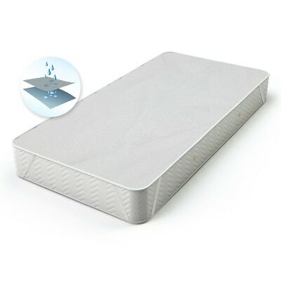 Waterproof mattress incontinence protector bed cover pad hypoallergenic 80x200cm
