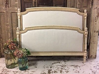 Antique French Bed Newly Recovered