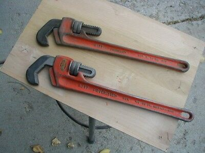 "RIDGID #17 STRAIGHT HEX WRENCH USED - - 5/8"" to 1-1/4"" capacity"