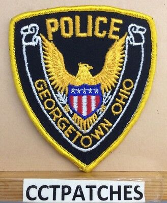 Georgetown, Ohio Police Stock Eagle Shoulder Patch Oh
