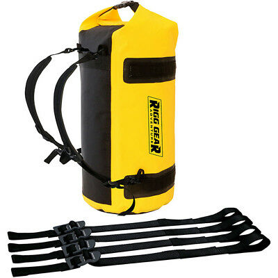 Nelson Rigg NEW SE-1030 Yellow 30L Adventure Dry Motorcycle Touring Roll Bag