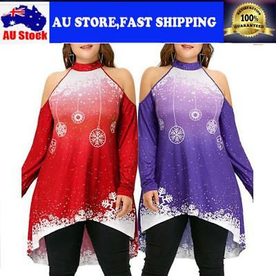 Vintage Women's Christmas Style Round Neck Long Sleeve Printing A-line Dress