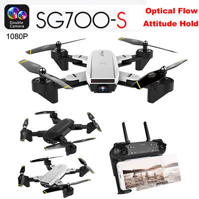 2.4Ghz 4CH Wide-angle WiFi 1080P Optical Flow Dual Camera RC Quadcopter Multi