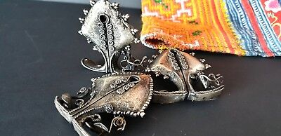 Old Sumba Island Metal Mamuli Drawer Pulls …set of three