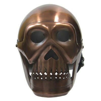 Unidecor Medievial Replica Skull Helmet Re-enactment Skeleton War Armour Helmet
