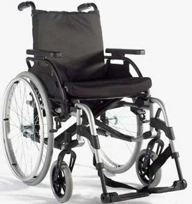 *BRAND NEW* Wheelchair – Breezy Basix2 20″ Silver