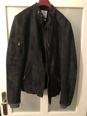 diesel mens leather jacket