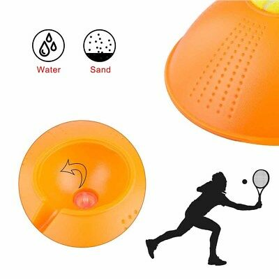 HOT Tennis Ball Single Training Practice Balls Back Trainer Fitness Tools+Tennis