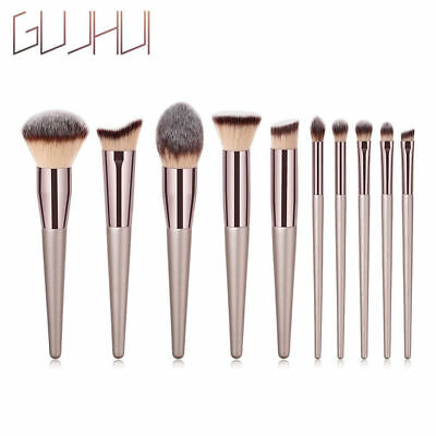 Pro Face Foundation Cosmetic Eyebrow Eyeshadow Brush Makeup Brush Set Tool Gift