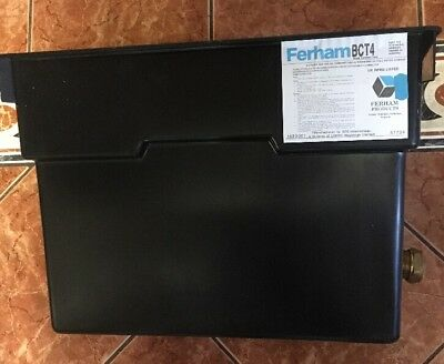 Ferham BCT4 4 Gallon/ 18 Litre Black Contract Water Tank