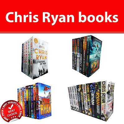 Chris ryan books Alpha Force Agent 21 Series Danny Black Thriller Collection Set
