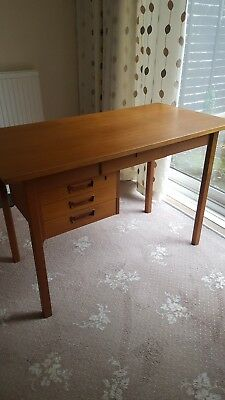 Office Desk Mid Century/teak /vintage/retro/Danish  designed by Tibergaard.
