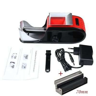 Cigarette Rolling Machine Electric Automatic Injector Maker Tobacco Roller+Rollr
