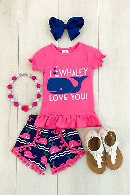AU Stock Kids Baby Girls Top T-shirt Clothes Shorts Pants Clothes Summer Outfits